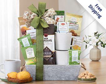Starbucks Coffee Break Gift Basket Gift Basket  Free Shipping