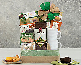 Suggestion - Coffee, Tea and Cocoa Gift Basket