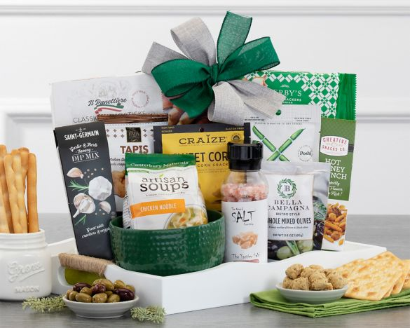 Image result for Soup's On Gift Basket