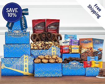 Deluxe Ghirardelli Tower Free Shipping 10% Save Original Price is $39.95