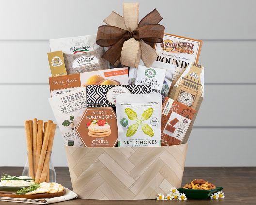 sympathy basket gift basket at wine country gift baskets