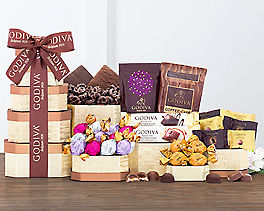 Suggestion - Godiva Milk and Dark Chocolate Tower Original Price is $64.95