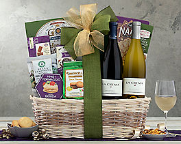 Suggestion - La Crema Monterey Duet Wine Basket