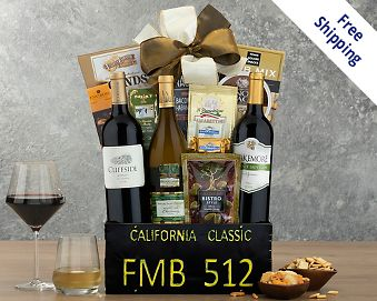 Item 572 - California Classic Gift Basket FREE SHIPPING