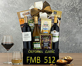 Suggestion - California Classic Trio Gift Basket Original Price is $99.95
