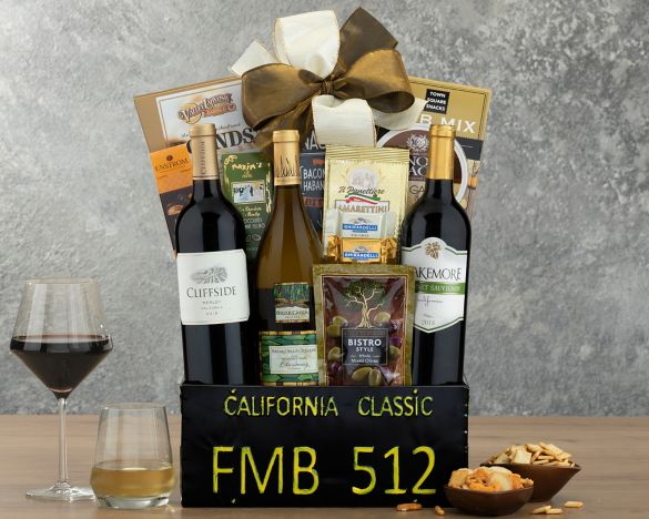 California classic gift basket at wine country gift baskets image2 negle Gallery