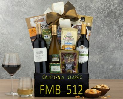 California Classic Gift BasketCalifornia Basket