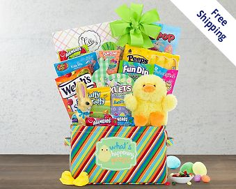 Easter baskets at wine country gift baskets quick look wishlist wishlist peter cottontail gift basket negle Image collections