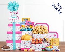 Springtime Easter Tower Free Shipping