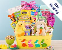 Ultimate Easter Assortment Gift Basket  Free Shipping