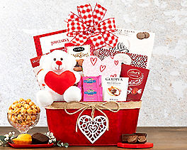 Suggestion - Happy Valentine's Day Gift Basket