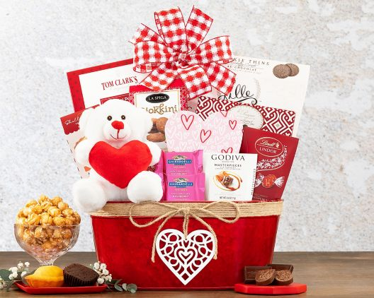 happy valentine's day gift basket at wine country gift baskets, Ideas