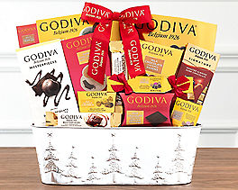 Suggestion - Godiva Wishes Chocolate Gift Basket