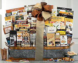 Suggestion - Wine Country Extravaganza Gourmet Gift Basket