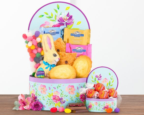 Easter Chocolate and Sweets Gift BasketEaster Chocolate and Sweets Gift Basket ...