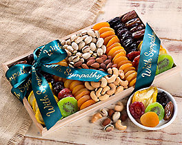 Suggestion - With Sympathy - Dried Fruit and Nut Collection Original Price is $54.95