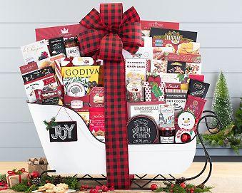 Holiday Sleigh Extravaganza Gift Basket