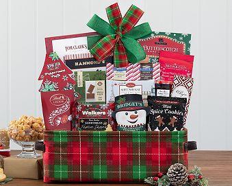 Happy Holidays Gift Basket