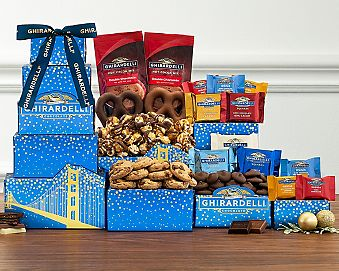 Ghirardelli Tower Gift Basket