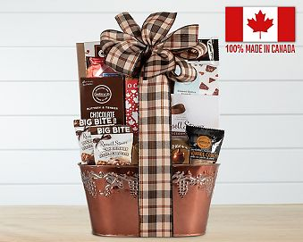 Canadian Chocolate Lovers Assortment Gift Basket