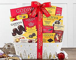 Suggestion - Godiva Wishes Chocolate Gift Basket