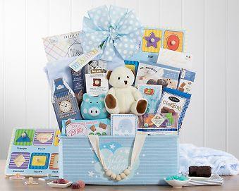 Bundle of Joy - Blue Gift Basket