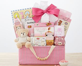 Bundle of Joy - Pink Gift Basket