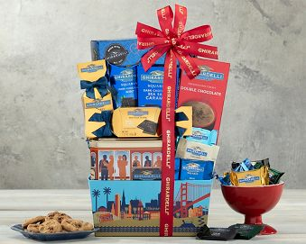 Ghirardelli Chocolate Collection Gift Basket