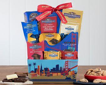 Ghirardelli Assortment Gift Basket