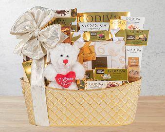 Godiva Valentine's Gift Basket Gift Basket