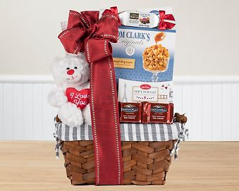Valentine's Hugs Gift Basket