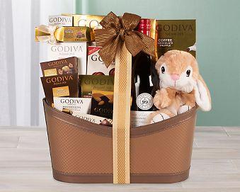 Godiva Easter Celebration Gift Basket Gift Basket