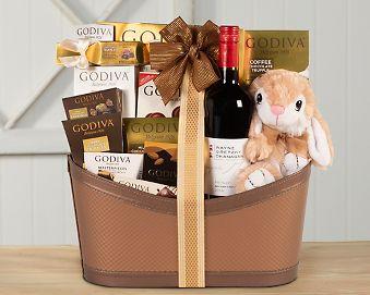 Godiva Easter Extravaganza Gift Basket Gift Basket