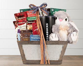 Starbucks Hoppy Easter Gift Basket Gift Basket