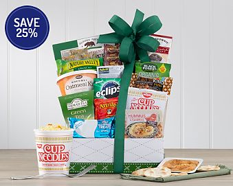 Work From Home Snack Assortment Gift Basket 25% Save Original Price is $49.95