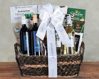 Canadian Wine Quartet - Celebrate Gift Basket