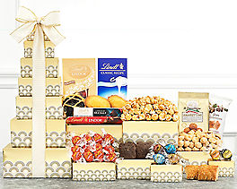 Suggestion - Deluxe Lindt Chocolate and Sweets Tower
