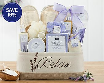 A Day Off Spa Gift Basket Gift Basket 10% Save Original Price is $59.95