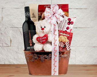 Valentine's Gourmet Gift Basket