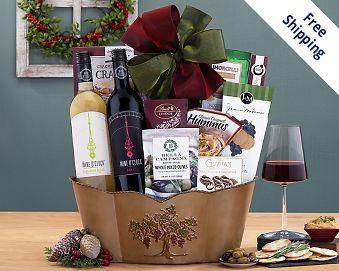Okanagan Valley Duet Gift Basket  Free Shipping