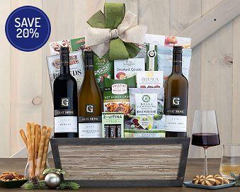 Cedar Creek Winery Trio Gift Basket 20% Save Original Price is $185.00