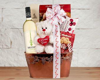 Valentine's Celebration Gift Basket