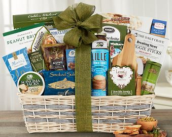 Sweet and Savory Masterpiece Gift Basket