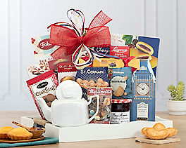 Suggestion - Holiday Tea and Breakfast Collection Gift Tray