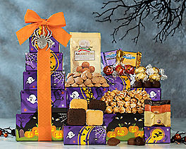 Suggestion - Godiva, Ghirardelli and Lindt Halloween Tower