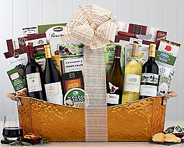Suggestion - Ultimate California Red and White Wine Basket