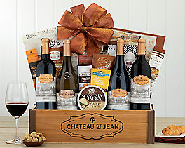 Suggestion - Deluxe Wine Country Picnic Gift Basket Original Price is $135.00
