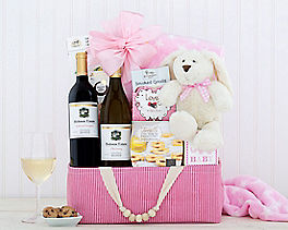 Suggestion - Red and White Wine Baby Girl Assortment Original Price is $99.95