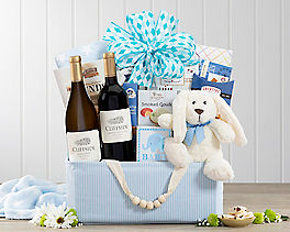 Suggestion - Red and White Wine Baby Boy Assortment