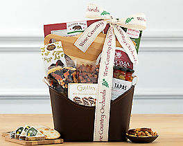 Suggestion - Nut, Chocolate and Snack Gift Basket